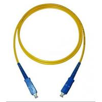 SC-SC Simplex Single Mode Fiber Optic Patch Cord Manufactures