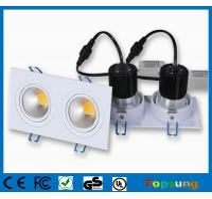 China 2X10W Professional high lumens COB led ceiling downlight fashion home lighting on sale