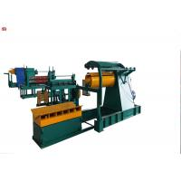 China Durable Cut To Length And Slitting Line  HR CR SS GI Steel Coil Slitting Machine on sale