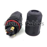 LLT-L20 IP67 3 Pin Waterproof Cable Connector Video Cable Connectors Premium Quality Manufactures
