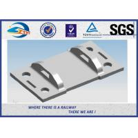 China High Tensile Strength Plain Railroad Tie Plates as Track Fasteners on sale