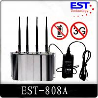 3G Cell Phone Signal Jammer Blocker EST-808A , 2100 - 2200MHZ Frequency Manufactures