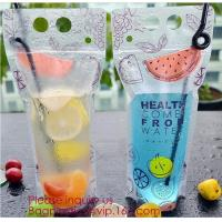 Biodegradable Liquid Packaging Leakage Proof Pouch Custom Custom 1 Gallon Water Bag Foldable Sports Drinking Water Bag Manufactures