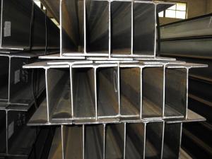 Hot Rolled Steel Beam, HW, HM, HN Standard Beams Custom Manufactures