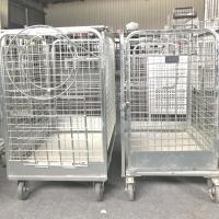 China Wire Mesh Storage Cages Stock  2 Layers on sale