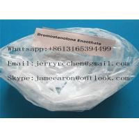 Natural Drostanolone Enanthate Raw Steroid Powders / Drolban Powders For Bodybuilding Cycle CAS 472-61-145 Manufactures