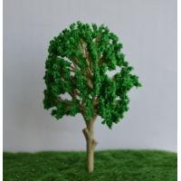 China 140mm scale model Railroad Layout Miniature Model Trees New Model Scenery Tree for Train on sale