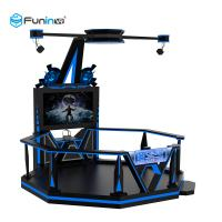 China Amusement Park Virtual World Simulator 0.9KW Black 220V 9D VR Space Walk Boxing Game Ride on sale