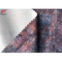Windproof Laminated TPU Coated Fabric Printed Polyester Spandex Fabric Manufactures