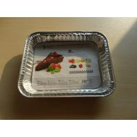 China Packaging Lasagna Aluminum Food Storage Containers 800ML Independent Packing on sale