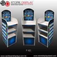 POP FSDU corrugated floor display shelves Manufactures
