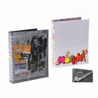 Printed Cardboard File Folders with D-ring Binder Manufactures