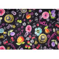 Pure Breathable 100% Cotton Twill Fabric with Per Customer Design Color Manufactures