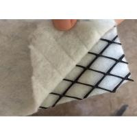 Two - Dimensional Geocomposite HDPE Geonet With 200GSM  PET Nonwoven Geotextile Manufactures