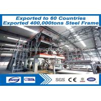 Light Guage Framing Steel Frame Structure , Metal Steel Buildings AWS Verified Manufactures