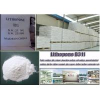 CAS No. 1345-05-7 White Lithopone Powder B311 ZnSBaso4 For Decorative Coatings Manufactures