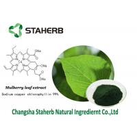 Chlorophyllin Antibacterial plant extracts Mulberry leaf extract sodium copper chlorophyllin Manufactures