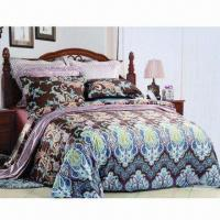 Bedding Set, Made of 100% Cotton, Available in Various Designs Manufactures