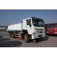 Sinotruk LHD 6x4 Water Tanker Truck15 - 25cbm Capacity For City Landscaping Manufactures