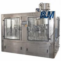 China 2000 - 3000 BPH Soft Drink / Carbonated Drink Filling Machine Stainless Steel on sale