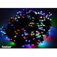 Quality Single Color / RGB Solar Powered LED String Lights Outdoor For Wedding Party 20m 200 Leds for sale