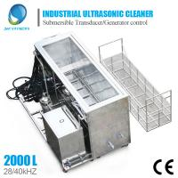 Quality Large Industrial Ultrasonic Cleaning Machine For Engine Block Car Parts Cleaning for sale