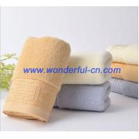 China The best nice dobby terry cloth organic cotton towels sale on sale
