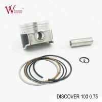DISCOVER 100 0.75 Motorcycle Piston Kits , Grade A Motorcycle Engine Parts Manufactures