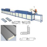 China Sun Control Polyurethane Sandwich Panel Machine For Window Covering Slats on sale