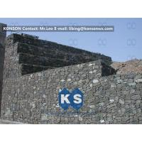 Customized Galvanized Galfan PVC PE Reinforced Gabion Wall Flexible Protective Mesh Manufactures