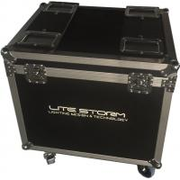Environmental Material Waterproof Rack Linging Flight Case For Show Manufactures