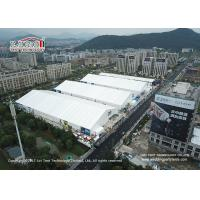 China 50m Outdoor Exhibition Tents Flame Retardant To DIN4102 B1 M2 CFM on sale