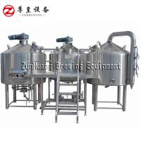 Semi Automatic Brewhouse Equipment Easy Brewing / Mashing Custom Voltage Manufactures