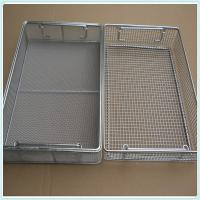 Disinfection Cleaning/Sterilization Basket/disinfect wire mesh baskets/Stainless Steel Wire Mesh Basket/Perforated Techn Manufactures