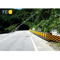 Anti Rust Roller Crash Barriers W Beam Guardrail For Bucket / Accident Car Manufactures