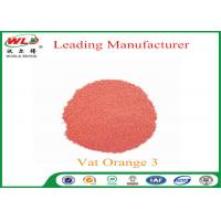 100% Purity Indanthrene Dye C I Vat Orange 3 Vat Brilliant Orange RK Manufactures