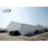 20x55m Outdoor Exhibition Tent with Flame Retardant PVC Roof and Sidewalls Manufactures