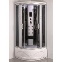 Comtemporary Steam Room Shower Combo With Whirlpool Tub ABS Tray Material Manufactures