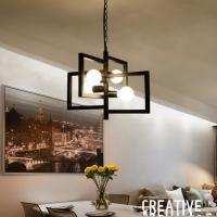 China Vintage Square farmhouse pendant lights for Kitchen Dining room (WH-VP-31) on sale