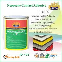 Water Based Neoprene Contact Adhesive Glue For Bonding Plywood , Wooden Furniture Manufactures