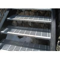 SGS Outdoor Galvanized Steel Stair Treads Hot Dip Galvanized Surface Manufactures
