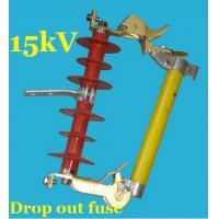 Electric Distribution Line Expulsion Type Fuse Cutout 15kv High Frequency Manufactures