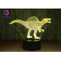RGB 3D Dinosaur Night Light Touch Screen Spinosaurus Thanksgiving Gifts