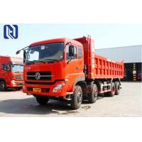 China Red 336hp 371hp 6x4 Tipping Dumper For Transport , 10 Wheeler Tipper Dump Truck on sale