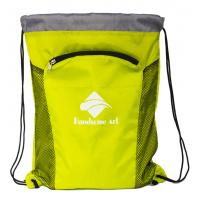 New Hot Selling  Cheap Polyester Drawstring Bag with Zipper-HAD14023 Manufactures
