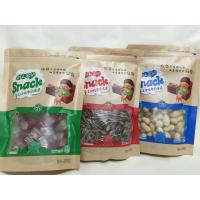 Resealable Dried Fruits Plastic Pouch Bag With Rectangular Window Manufactures