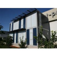 SGS Modern Modular House Steel Firm Structure And Sandwich Panel Manufactures
