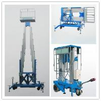 China Double Mast Lift Table, Double Mast Lift Platform, Self-propelled Double Mast Lifts on sale