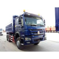 China Famous SINOTRUK HOWO 6*4 Dump Truck , Diesel Fuel Type Heavy Commercial Trucks on sale