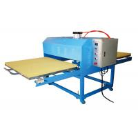 Pneumatic Garment Rosin T Shirt Heat Transfer Machine Wide Format Double Working Table Manufactures